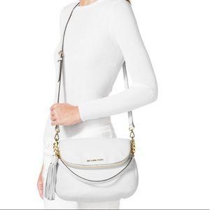 Michael Kors Bedford crossbody bag blush leather